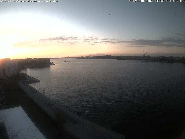 North West on the Warnow in Rostock